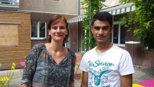 Susanne und Ahmed